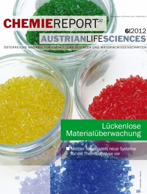 Cover Chemiereport 6/2012