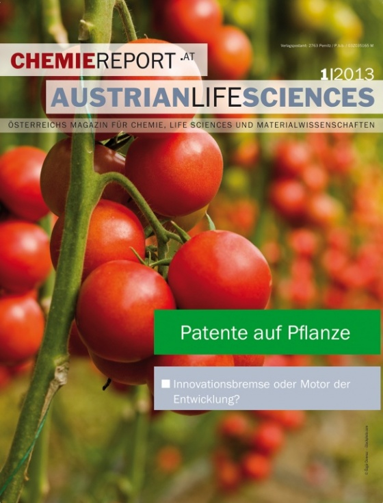 Cover Chemiereport 2013/01