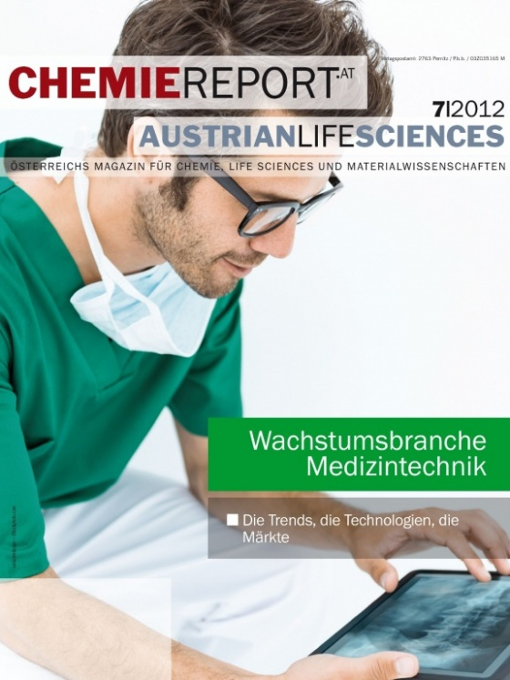 Cover Chemiereport 7/2012