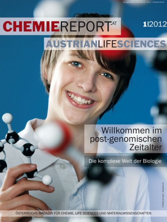 Cover Chemiereport 1/2012