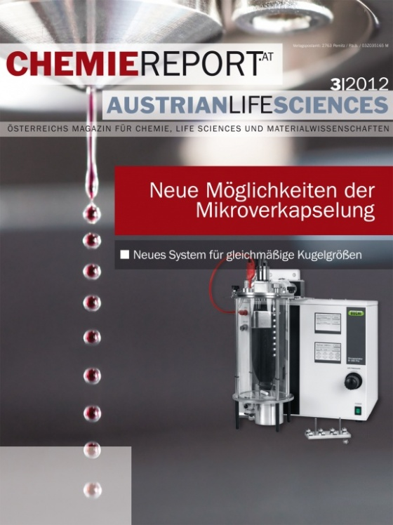 Cover Chemiereport 3/2012