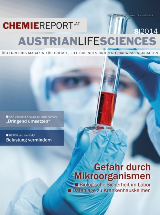 Cover Chemiereport 8/2014
