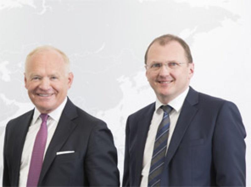 AMAG-Vorstände Wieser (l.) und Mayer