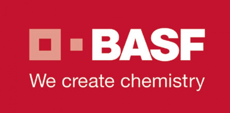 Logo BASF rot