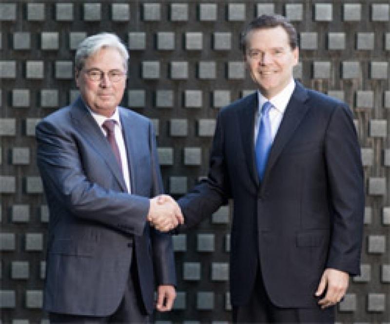Kottmann (l.) und Huntsman