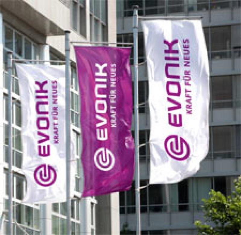 Evonik-Flaggen