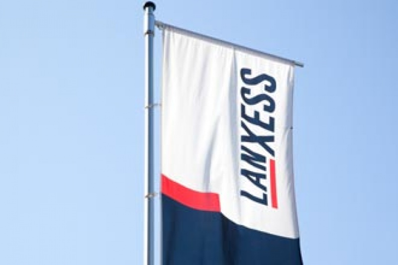 Lanxess-Flagge