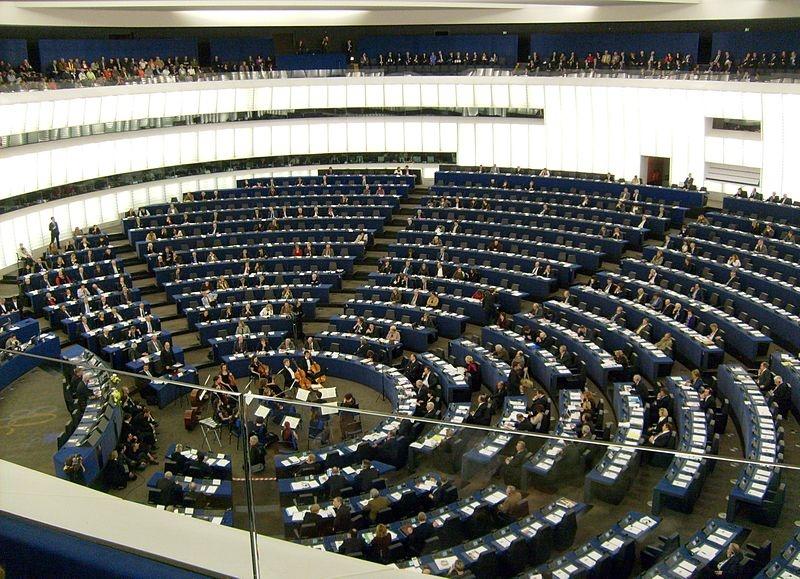 Hemicycle European Parliament