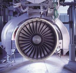 Flugzeugturbine