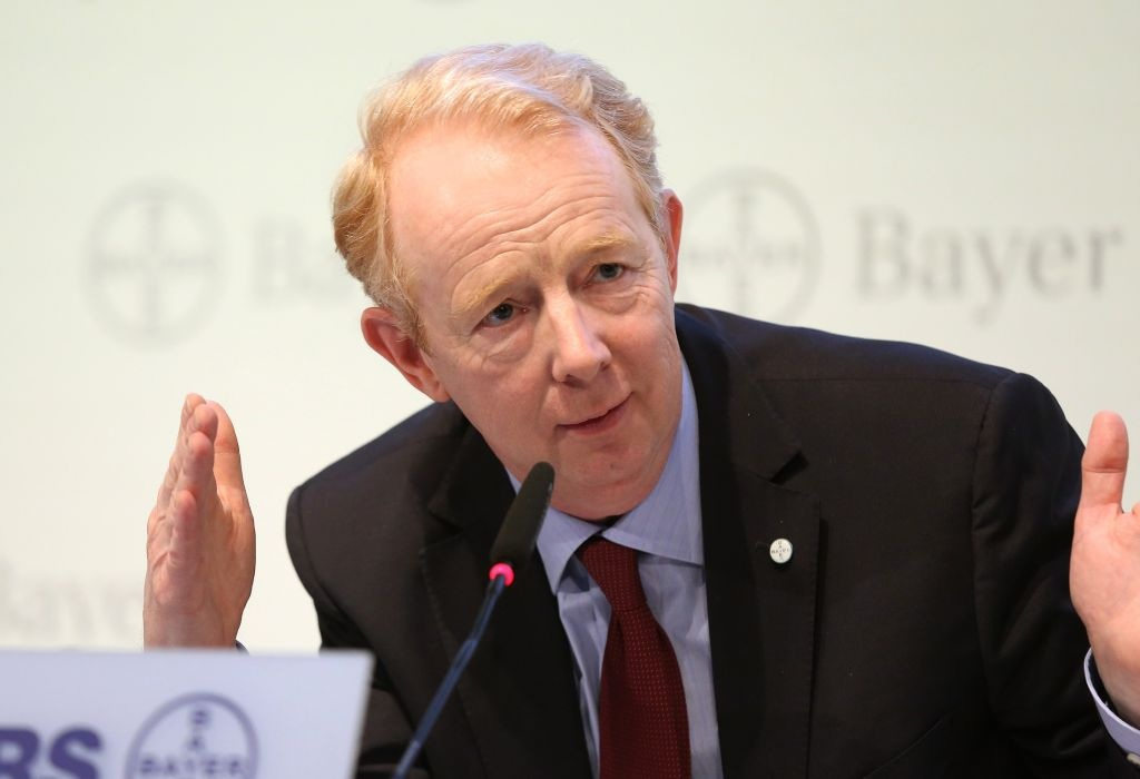 Marijn Dekkers, CEO Bayer