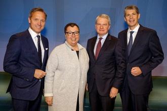 Munte, Huber, Oberhauser, Rumler (v. r. n. l.)