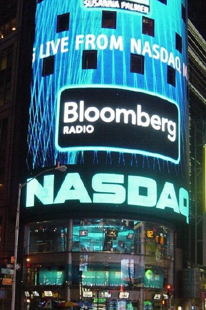 NASDAQ-Standort am Times Square, New York City